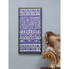 Strass Carpet Picture Frame, Indigo