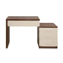 Ozone Study Table - @home by Nilkamal, Walnut & White