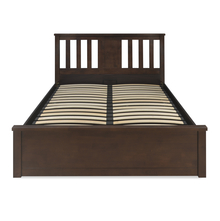 Montreal Queen Bed With Storage, Espresso