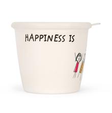 Happiness Modest 700ML Storage Jar, White