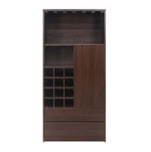 Denver Big Bar Cabinet, Dark Walnut