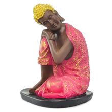 Bodhisatva Prayanam Show Piece - @home Nilkamal,  magenta
