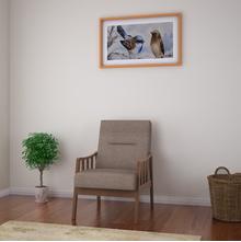 Colette 1 Seater Sofa, Brown