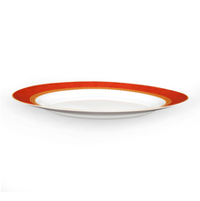 Laopala Ameerah Sovrana Platter - @home by Nilkamal, Red