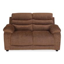 Perkins 2 Seater Sofa - @home by Nilkamal, Hazel Brown