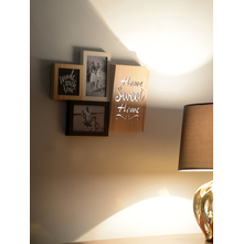 Photo Frame 40X29CM LED Home & Love, 2 Picture