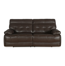 Nexa 3 Seater Sofa With Electric Recliner, Rich Brown