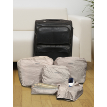 5 Pieces Set Travelling Bag, Grey