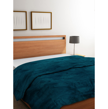 Vivo 220 cm x 240 cm Double Blanket, Sea Green