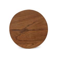 Polpat Wooden Round, Brown