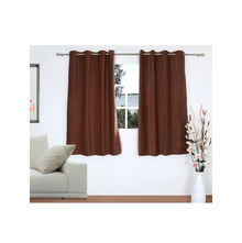 Opus 2 Pieces Window curtain 112X152CM, Brown