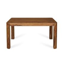 New Granada 6 Seater Dining Table, Natural Walnut