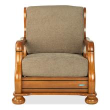 Nilkamal Melbourne One Seater Sofa, Wenge