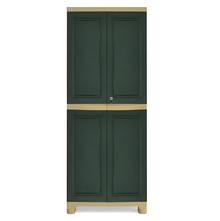 Nilkamal Freedom Big Storage Cabinet FB1, Pastle Green/Olive Green