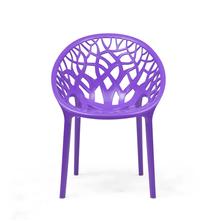Nilkamal Crystal PP Chair - Violet