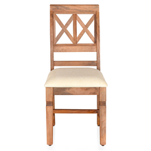 Festo Dining Chair with Cushion - @home by Nilkamal, Natural