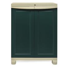 Nilkamal Freedom Storage Unit FS1, Pastle green / Olive green