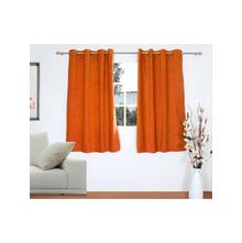 Opus 2 Pieces Window curtain 112X152CM, Rust