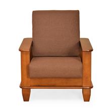 Elena 1 Seater Sofa - @home Nilkamal,  wenge