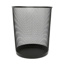 Big Mesh Dustbin - @home by Nilkamal, Black