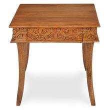 Vesta Square Side Table - @home by Nilkamal, Natural