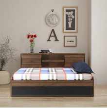 Avenger Kids Bed, Walnut
