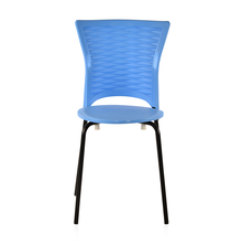 Novella 14 Mild Steel Leg Without Arm Without Cushion - @home Nilkamal,  blue