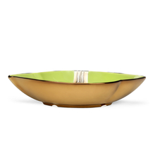 Shell Shape 20.5 cm x 13 cm x 4.4 cm Platter - @home by Nilkamal, Light Green & Silver