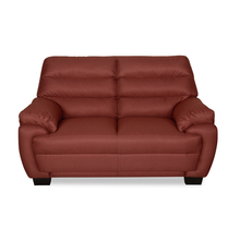 Bradley 2 Seater Sofa - @home by Nilkamal, Maroon