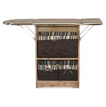 Zino Ironing Cabinet - @home By Nilkamal,  brown