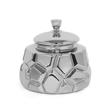 Abstract Bowl, Silver