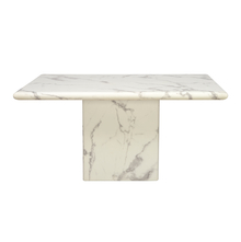 Desire 6 Seater Dining Table, White
