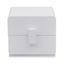 Capital 2 Drawer Night Stand - @home By Nilkamal, Glossy White