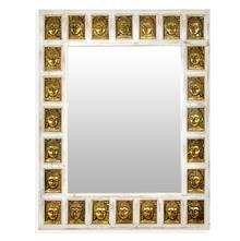 Buddha Wall Mirror - @home by Nilkamal, Ash White