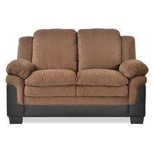 Jude 2 Seater Sofa - @home by Nilkamal,  brown
