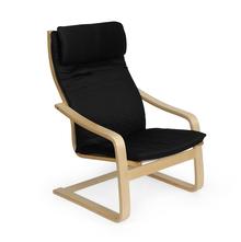 Baker Occasional Chair - @home Nilkamal,  black