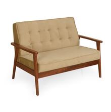 Denmark 2 Seater Sofa - @home by Nilkamal, Antique Oak