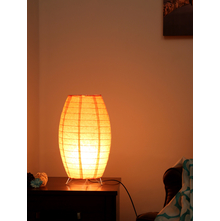 Moonlight Table Lamp, Orange