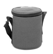 Bergner Super Set of 3 Lunch Box with Bag - Grey
