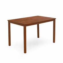 Bony 4 Seater Dining Table - @home by Nilkamal,  brown