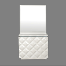 Margery Dresser with Mirror - @home by Nilkamal, White