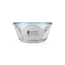 Sanjeev Kapoor 1050 ml Round Mixing Bowl with Lid, Blue