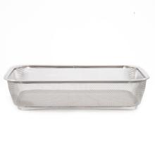 Stainless Steel Medium Fridge Basket - @home by Nilkamal, Silver