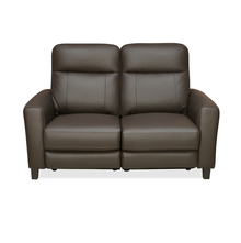 Admiral 2 Seater Sofa With Electrical Recliner, Dark Brown