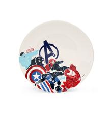 Avengers Agedup Urmi Breakfast Plate, White