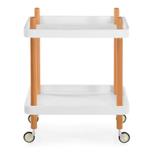 Prima Serving Cart - @home by Nilkamal, White