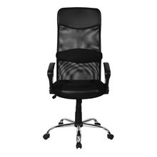 Nilkamal Zinc Mid Back OSS Mesh Chair - Black