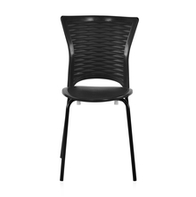 Novella 14 Mild Steel Leg Without Arm Without Cushion - @home Nilkamal,  black