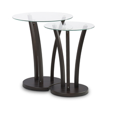 Viola Nest Table - @home Nilkamal,  wenge