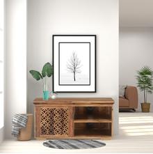 Dalia Low Height Wall Unit, Natural Walnut